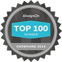 AlwaysOn OnDemand Top 100 Winner for On-demand Software - Big Data