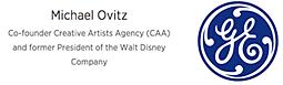 logo Michael Ovitz & GE